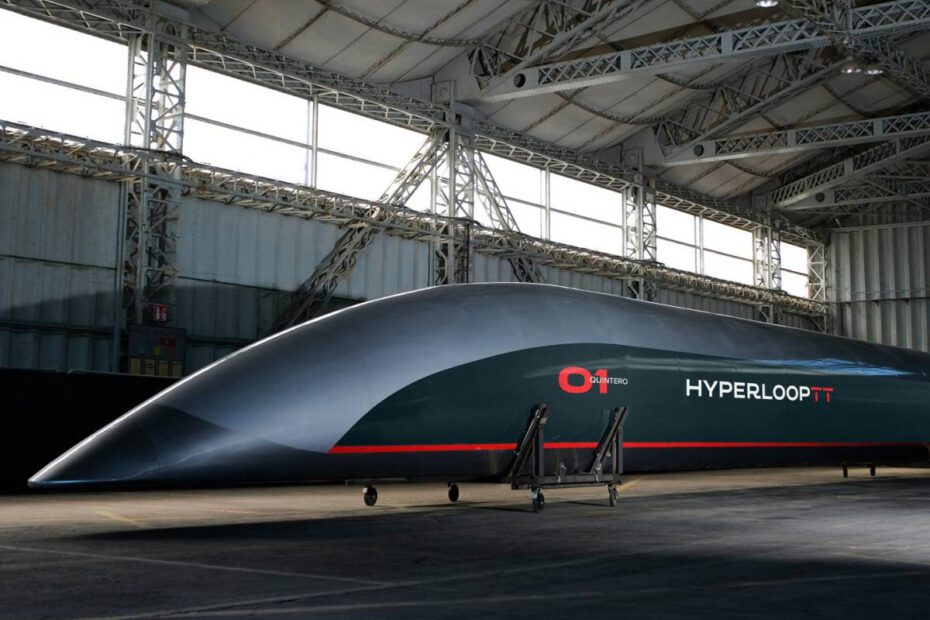 Hyperloop TT pod